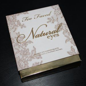 Too Faced Natural Eyes Palette (swatched)